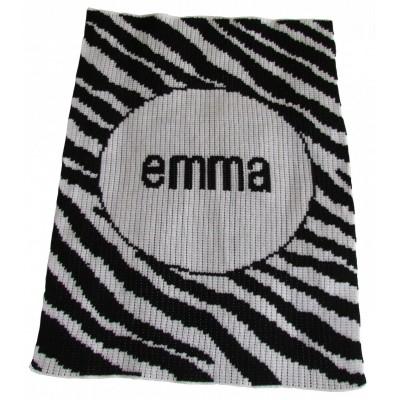 Zebra Stripe Blanket