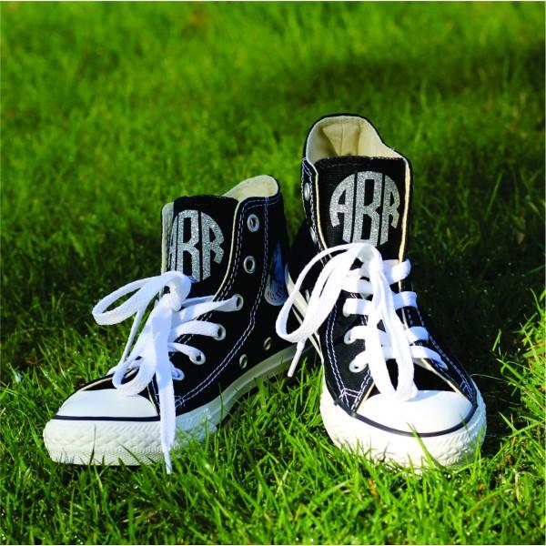 Monogrammed Converse