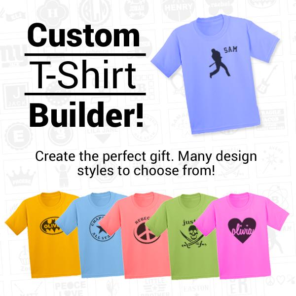 Custom T-Shirt Builder