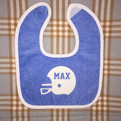 Dark Blue Baby Bib