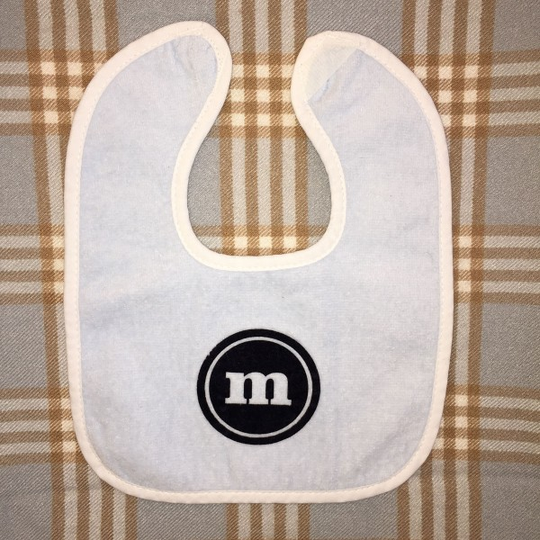Light Blue Baby Bib