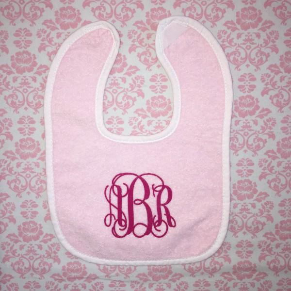 Light Pink Baby Bib