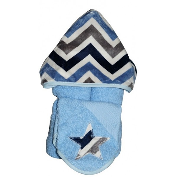 Denim Chevron Towel
