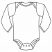 Long Sleeve Onesie - runs small, please order one size up