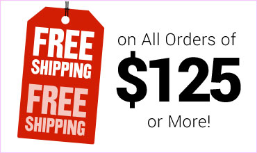 Free Shipping with your customized order of $125